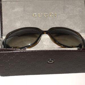 Accessories - Gucci Bamboo Sunglasses W/ Case